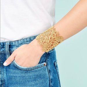 Stella & Dot lace cuff